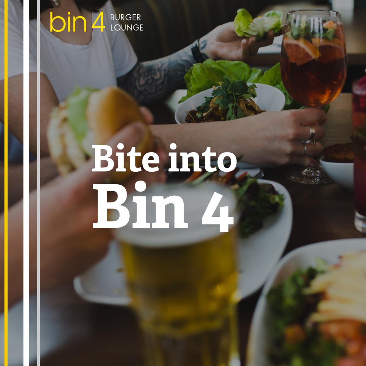 Bin 4 Burger Lounge – Rethink your burger